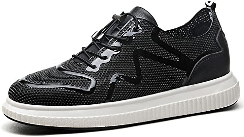 YIXINY Deporte Zapato FY-888444 Primavera Y Verano Nueva Moda Respirable Cabeza Redonda Calzado De Hombre Casual