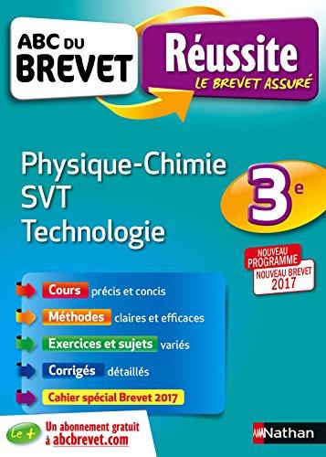 ABC du BREVET Russite Physique-Chimie SVT Techno 3e