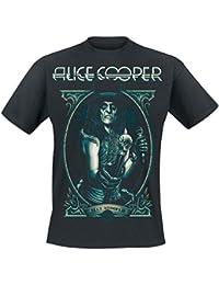 Alice Cooper Portrait T-shirt noir