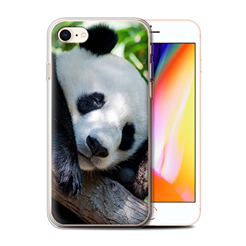 Coque Gel TPU de Stuff4 / Coque pour Apple iPhone 4/4S / Girafe Design / Animaux sauvages Collection Panda