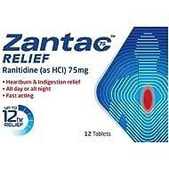 Zantac 75mg Relief, 12 Tablets