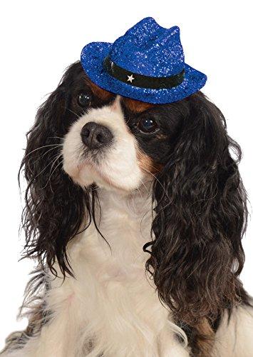 Rubies Costume Company Glitzer Cowboy Hat Pet Kostüm (Rubies Glitzer Kostüme)