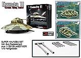 Squadron SQM0001DR 1/72 HAUNEBU II SPECIAL EDITION inkl. Resin Gun Replacement und PANZER