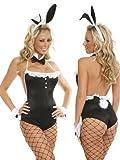 Fancy me Déguisement sexy de lapin Playboy pour femme