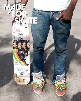 Made for Skate: The Illustrated History of Skateboard Footwear by Jurgen Blumlein (2010-07-01)