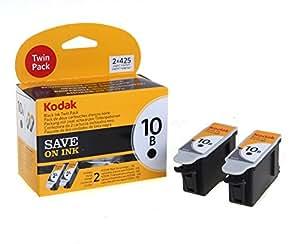 Kodak 10b Ink Cartridge - Black (Pack of 2)
