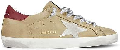 Golden Goose Luxury Fashion Uomo GMF00101F00058780487 Beige Pelle Sneakers | Primavera-Estate 21