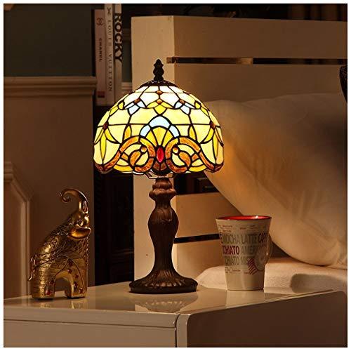 CJW Lampe de table de chambre baroque européenne - creative retro wild 20cm (8 inches)