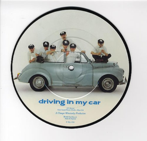 Driving In My Car - vinyl single
