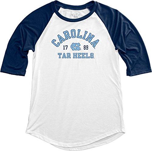 Blue 84 NCAA North Carolina Teagan-Baseball-T-Shirt für Erwachsene, Damen, Größe XL, Marineblau -