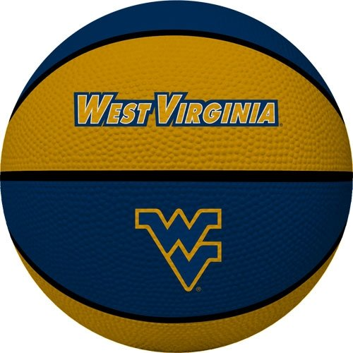 Rawlings NCAA Crossover Full Größe Basketball, West Virginia Mountaineers
