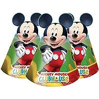 Mickey Mouse Clubhouse Party – Cono de Mickey para Fiesta (6 Unidades) 01182ed18bf