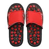 pantofole massaggianti,Anself anti scivolo strettezza registrabile resistente all'acqua Salute pantofole Sandali Scarpe riflessologia plantare per uomo e donna (42-43)