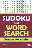 Sudoku and Word Search Puzzles for Adults Vol 2