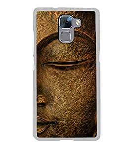 Buddha 2D Hard Polycarbonate Designer Back Case Cover for Huawei Honor 7 :: Huawei Honor 7 Enhanced Edition :: Huawei Honor 7 Dual SIM