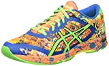 ASICS Herren Gel-Noosa Tri 11 Laufschuhe, Mehrfarbig (Hot Orange/Green Gecko/Electric Blue), 40 EU