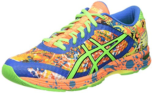 asics-gel-noosa-tri-11-chaussures-de-sport-homme-multicolore-hot-orange-green-gecko-electric-blue-45