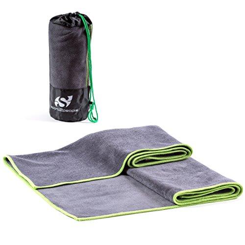 Sport2People toalla de entrenamiento de microfibra...