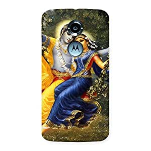 Gorgeous Radha Krishna Multicolor Back Case Cover for Moto X 2nd Gen
