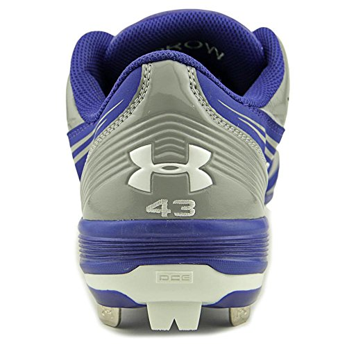 Under Armour Team Ignite III Low St Baseball Cleats Synthetik Klampen RYL/LSTL/WHT
