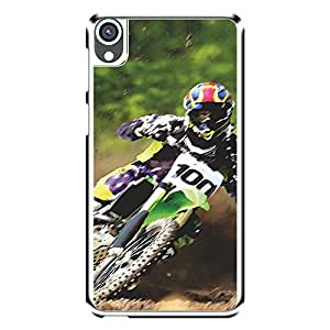 "MOBO MONKEY Designer Printed 2D Transparent Hard Back Case Cover for ""HTC Desire 820"" - Premium Quality Ultra Slim & Tough Protective Mobile Phone Case & Cover"