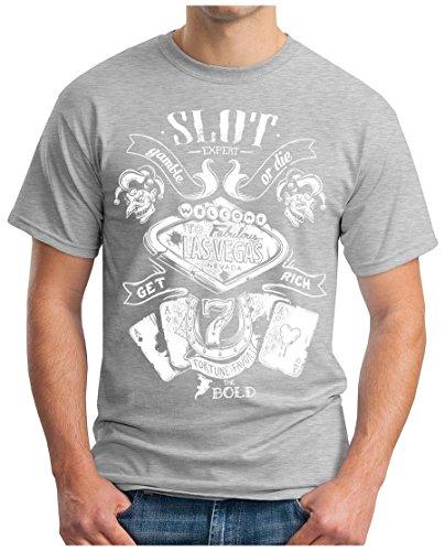 OM3 - LAS-VEGAS - T-Shirt NEVADA SLOT EXPERT gamble or die GET...
