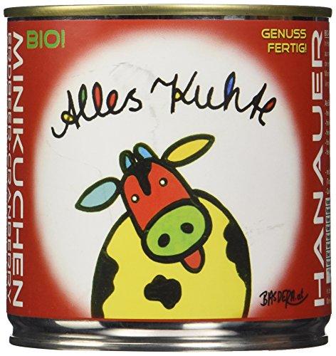 "Hanauer Minikuchen Erdbeer-Cranberry \""Alles Kuhte\"", 1er Pack (1 x 170 g)"