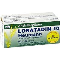 Loratadin 10 Heumann, 100 St. Tabletten preisvergleich bei billige-tabletten.eu