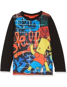 Générique LS T-Shirt, Top de Manga Larga para Niños