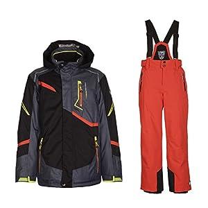 Killtec Skianzug Chiran für Jungen und Mädchen Gute Passform, Wasserdicht und Winddicht