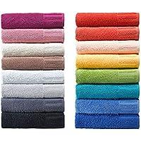 Toallas super absorbentes, serie Venecia, manopla, toalla de invitados, toalla de ducha
