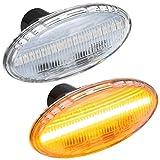 phil trade LED SEITENBLINKER kompatibel für Mazda 2 | 3 | 5 | 6 | MPV II | BT-50 | KLARGLAS [71805B]