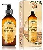 Vitamins Argan Öl Shampoo für Trockenes, Kaputtes Haar - Antifrizz Produkt für Volume Control, Shine, Glanz & Styling