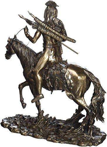 Design Toscano Des Kriegers einsamer Pfad, Skulptur