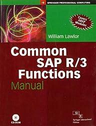 Common SAP R/3 Functions Manual, w/CD