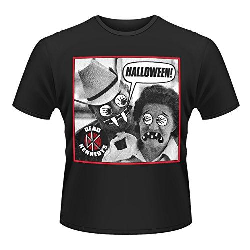 en 's Dead Kennedys Halloween Short Sleeve T-Shirt Gr. XX-Large, Schwarz (Dead Kennedys-halloween)