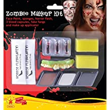 Rubies Kit Maquillaje Zombie para Hombre Talla única RubieS Spain 33668