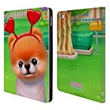 Head Case Designs Offizielle Boo-The World's Cutest Dog Herzen Charakter Kunst Brieftasche Handyhülle aus Leder für iPad Air 2 (2014)