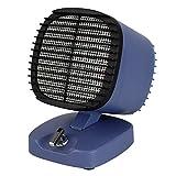 JTYX Raumheizungen Tragbare 2 Dateien Dumping Power Protection Home Office Desktop Elektroheizung,Blue,130X146X180MM