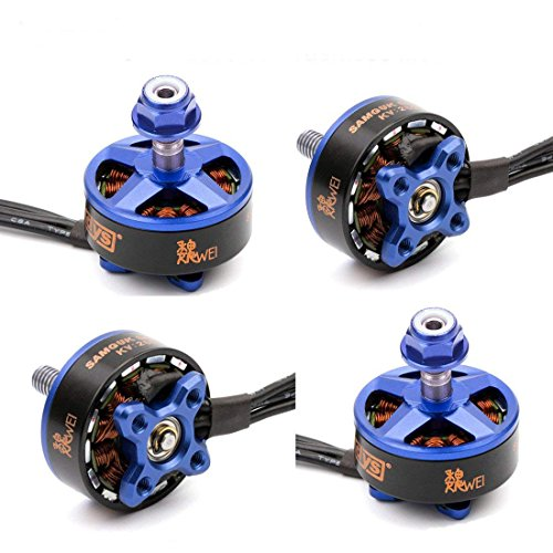 4pcs DYS Brushless Motor 2207 2600KV 3-4 S für RC Drone FPV Racing (Samguk Serie Wei) -