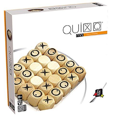 GIGAMIC QXM Quixo Mini - Juego de Mesa de Estrategia
