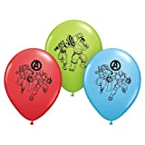 Pioneer National Latex Marvel Avengers Assemble 12 Latex Balloons, Assorted, 6 Count by Pioneer National Latex