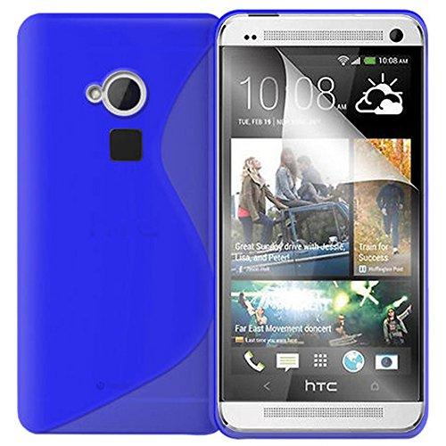 Schutzhülle weich Silikon Gel, Motiv S-Line für HTC One Max/Dual Sim - One Dual Max Htc Sim