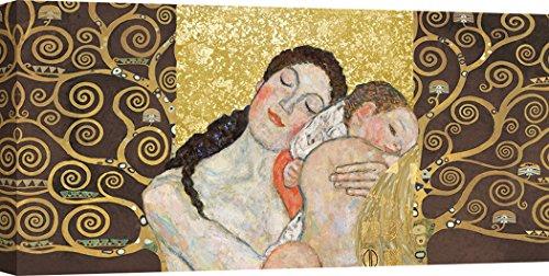 Art Print Cafe – Cuadro – Impresion sobre Lienzo – Gustav Klimt, Maternidad II – 140x70 cm
