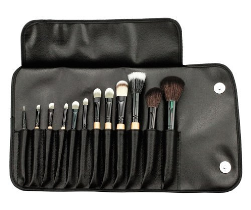 12 PCS Pinceaux Cosm¨¦tiques/Trousse ¨¤ Maquillage Professionnel/Makeup Brush Set