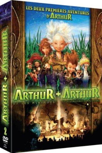 Arthur et les Minimoys + Arthur et la vengeance de Maltazard - Coffret 2 DVD - incluses les premières images du 3e volet de la saga
