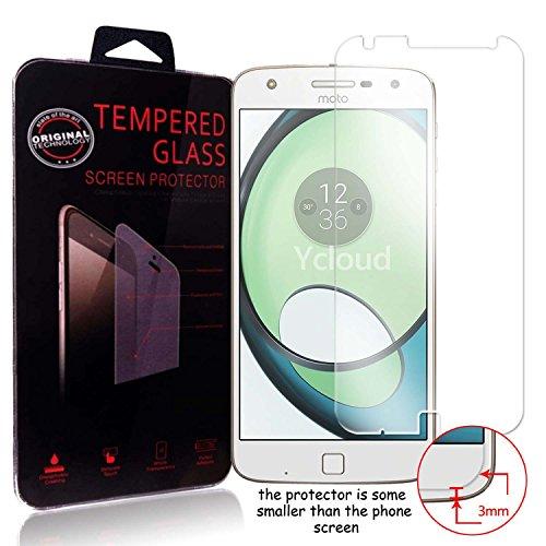 Ycloud Panzerglas Folie Schutzfolie Displayschutzfolie für Lenovo Moto Z Play (5.5 Zoll) screen protector mit Härtegrad 9H, 0,26mm Ultra-Dünn, Abgerundete Kanten