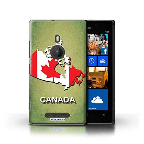 Coque de Stuff4 / Coque pour Nokia Lumia 925 / Ecosse/écossaise Design / Drapeau Pays Collection Canada