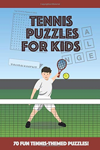 Tennis Puzzles for Kids: ... tennis wordsearches, fascinating facts and more!