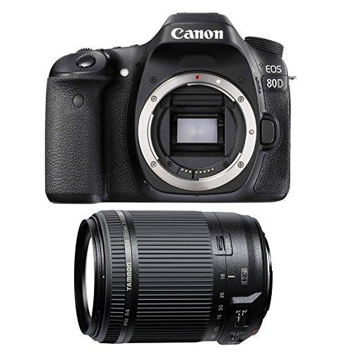 CANON EOS 80D + TAMRON 18-200 VC